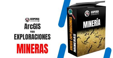 ArcGIS Exploraciones mineras